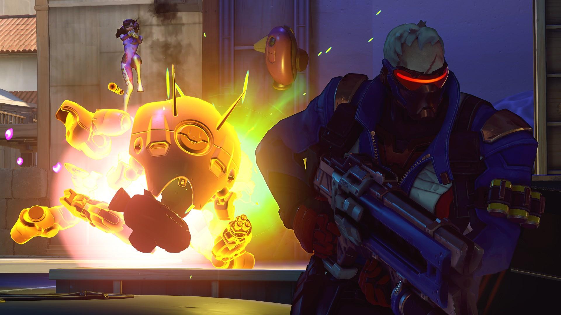 Screenshot d'Overwatch.